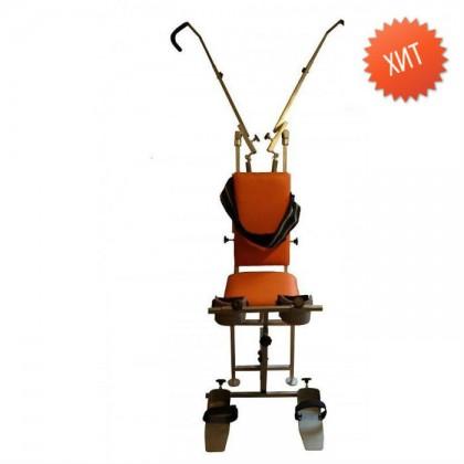 Аппарат на всю руку (Экстензор- Автомах) Взрослый и подростковый (Полный универсальный комплект с коленоупорами и стопоупорами) Без Н-образных спецперчаток