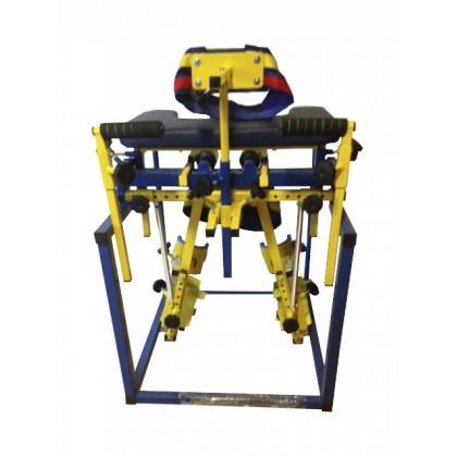 Аппарат на всю ногу НЕОСПЕЦФОР (Абдуктор) для детей (базовая комплектация: без грудного упора и спецперчаток)